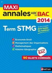Maxi Annales Bac 2014 Term Stmg N27