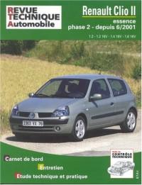 Rta 666.1 Renault Clio 2 Es 1.2/1.4/1.6 Depuis 6/01