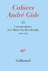 Correspondance: (1899-1950)
