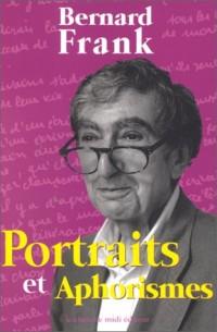 Portraits et Aphorismes