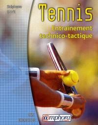 Tennis : Entraînement technico-tactique