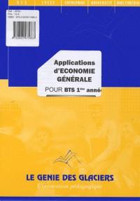 Applications d'économie générale pour BTS 1e année