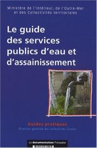 Le guide des services publics d'eau et d'assainissement