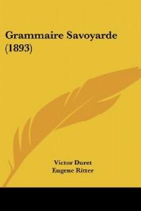 Grammaire Savoyarde (1893)