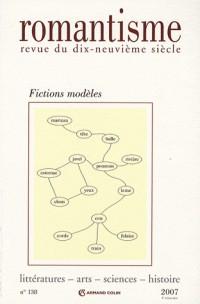 Romantisme, N° 138 : Fictions modèles