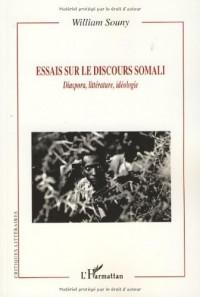 Essais Sur le Discours Somali Diaspora Litterature Idéologie