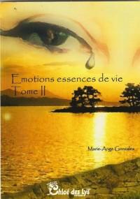 Emotions, Essence de Vie - Tome 2