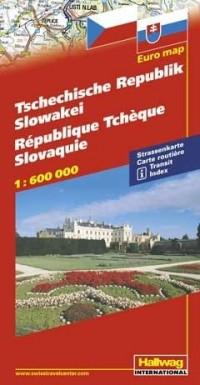 République tchèque, Slovaquie : 1/600 000