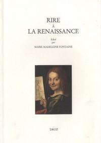 Rire à la Renaissance