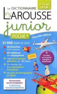 Larousse dictionnaire junior poche+ : 7-11 ans CE/CM