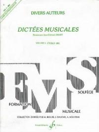 Dictées Musicales Volume 1 - Professeur