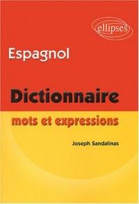 Espagnol : Mots et expressions (dictionnaire)