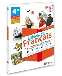 Cahier de français 4e