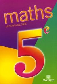 Maths 5e : Programme 2006
