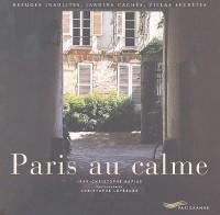 Paris au calme