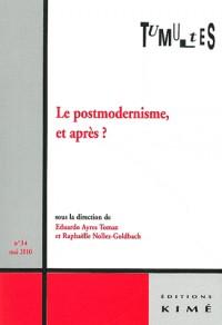 Tumultes, N° 34 : Le postmodernisme et après
