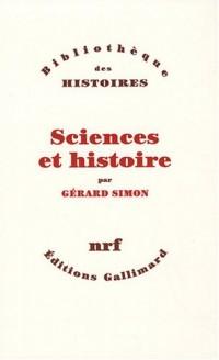 Sciences et histoire