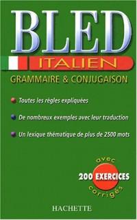 Bled Italien : Grammaire et conjugaison