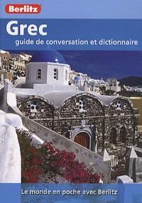 Grec, guide de conversation et dictionnaire