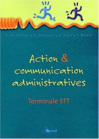 Action et communication administratives Tle STT