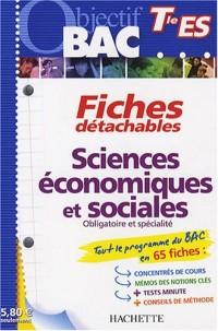 Sciences économiques et sociales Tle ES