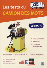 Les tests du Camion des mots CE2 : CD-ROM