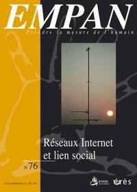 Empan, N° 76 : Réseaux internet et lien social