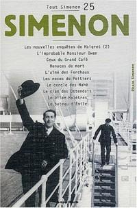 Tout Simenon, centenaire tome 25
