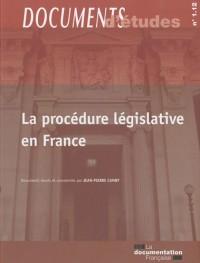 La procédure législative en France