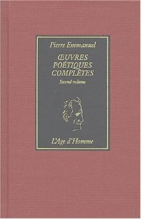Oeuvres poétiques complètes, tome 2