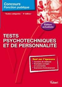N.64 Tests psychotechniques et de personnalité, toutes catégories