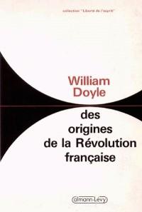 Des origines de la Révolution française