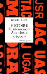Histoire du mouvement anarchiste en France, 1945-1975