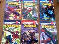 I Can Read Spider Sense Six-book Set. Spider-man Versus the Green Goblin, Spider-man Versus Hydro-man, Spider-man Versus the Lizard, Spider-man Versus Electro, Spider-man Versus Kraven, Spider-man Versus the Vulture.