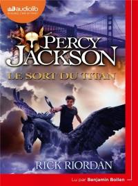 Percy Jackson 3 - Le Sort du Titan: Livre audio 1 CD MP3