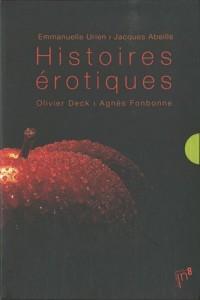 Histoires érotiques coffret 4 vol.