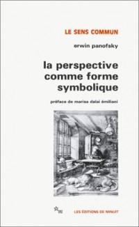 La perspective comme forme symbolique et autres essais