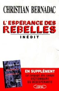 L'espérance des rebelles