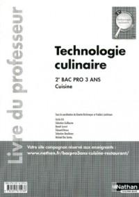 Technologie Culinaire 2e Bac Pro Cuisine Livre du  Professeur 2011