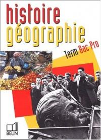 Histoire-Géographie, terminale Bac Pro