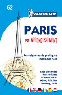 Plan de Paris par arrondissement agraff