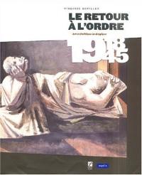 Le retour à l'ordre : Art et politique en Belgique 1918-1945