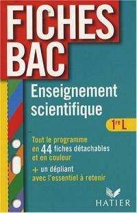 Enseignement scientifique 1e L : Thèmes obligatoires et thèmes au choix