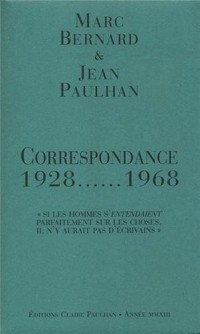 Correspondance 1928-1968