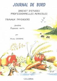 Journal de bord BEPA : Pépinières / Cultures fruitières