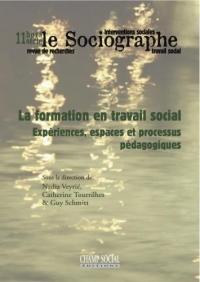 Le Sociographe Hors-Serie N°11. La Formation en Travail Social. Expériences, Espaces et Processus Pédagogiques