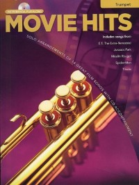 Movie Hits Instrumental Playalong: Trumpet. Partitions, CD pour Trompette