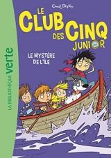Le Club des Cinq Junior 02 - Le Mystère de l'île [Poche]