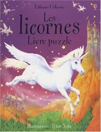 Les licornes : Livre puzzle
