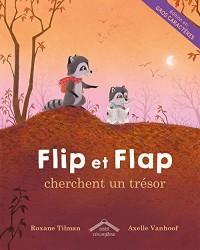Flip et Flap cherchent un trésor - édition en gros caractères